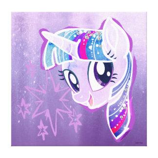 My Little Pony   Twilight Sparkle Watercolor Canvas Print