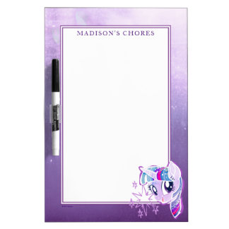 My Little Pony | Twilight Sparkle Watercolor Dry Erase Board