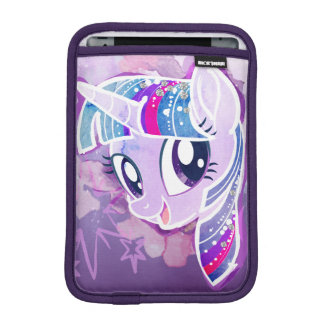 My Little Pony   Twilight Sparkle Watercolor iPad Mini Sleeve