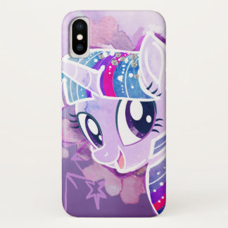 My Little Pony | Twilight Sparkle Watercolor iPhone X Case