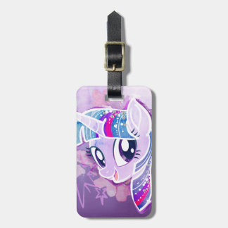 My Little Pony | Twilight Sparkle Watercolor Luggage Tag