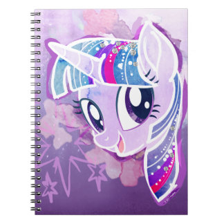 My Little Pony | Twilight Sparkle Watercolor Notebook