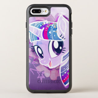 My Little Pony | Twilight Sparkle Watercolor OtterBox Symmetry iPhone 8 Plus/7 Plus Case