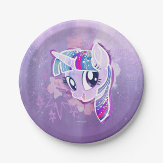My Little Pony | Twilight Sparkle Watercolor Paper Plate