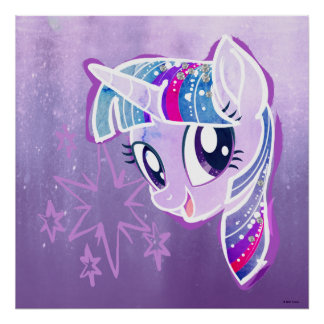My Little Pony | Twilight Sparkle Watercolor Poster