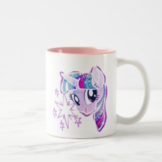 My Little Pony | Twilight Sparkle Watercolor Two-Tone Coffee Mug