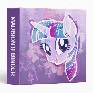 My Little Pony | Twilight Sparkle Watercolor Vinyl Binders
