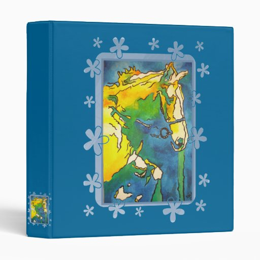 My Little Pony (Yellow and Blue) Binder