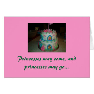 My little Princess, Happy birthday Card