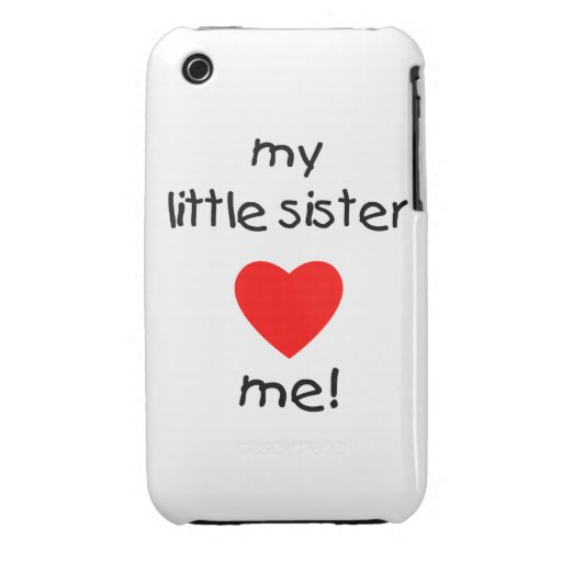 My Little Sister Loves Me Case-Mate iPhone 3 Cases