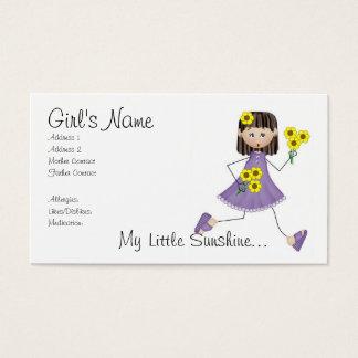 My Little Sunshine Mommy Card