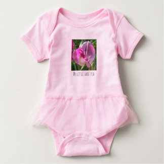 My little sweet pea tutu bodysuit