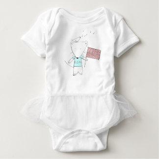 my little usa. baby bodysuit