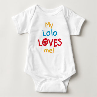 My Lolo Loves Me T-shirts and Gifts