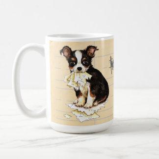 My Long Coat Chihuahua Ate My Homework Coffee Mug