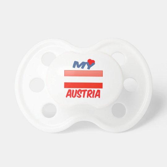 My Love Austria Pacifier