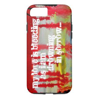 MY LOVE IS BLEEDING Phone Case