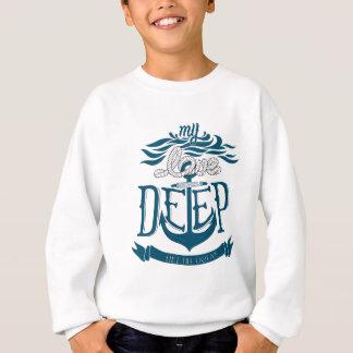 My love is deep like the ocean sweatshirt