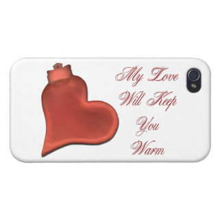 My Love Will Keep You Warm Cover For iPhone 4