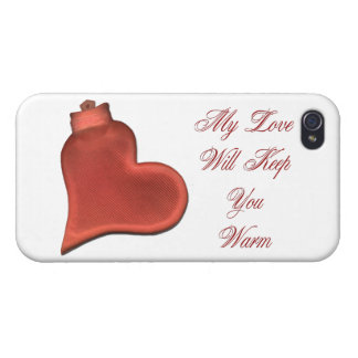 My Love Will Keep You Warm iPhone 4 Case
