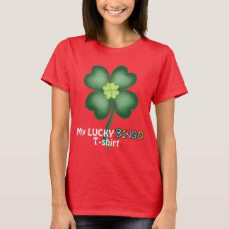 My Lucky Bingo Gambling t-shirt