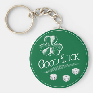 My Lucky Bunco Charm Keychain