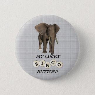 MY LUCKY BUTTON! 2 INCH ROUND BUTTON