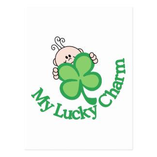 My Lucky Charm Postcard