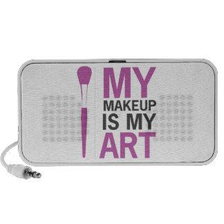 My Makeup is My Art Portable Speaker