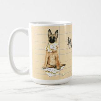 My Malinois Ate My Homework Coffee Mug