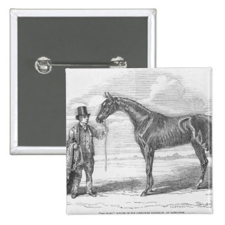 My Mary', winner of the Yorkshire Handicap 2 Inch Square Button