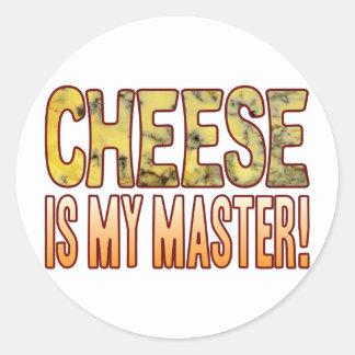 My Master Blue Cheese Round Sticker