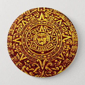 My Mayan Calendar (Pin-On Button) 4 Inch Round Button