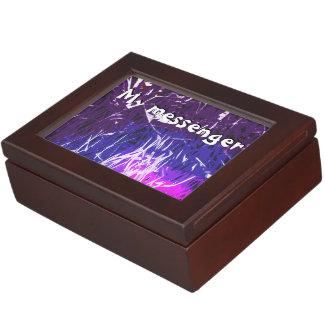 My messenger Luke chapter 7 Keepsake Box
