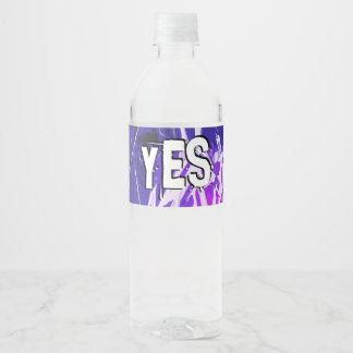 My messenger Luke chapter 7 Water Bottle Label