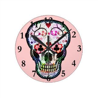 My mexican Skull Clock