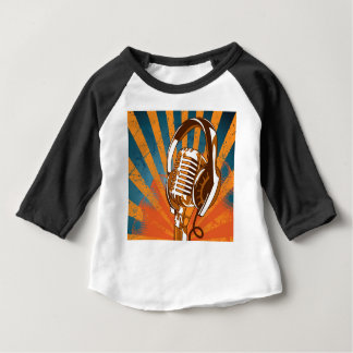 My Mic Man On Radio Baby T-Shirt