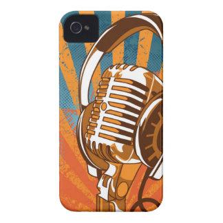 My Mic Man On Radio iPhone 4 Case-Mate Case
