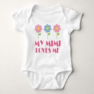My Mimi Loves Me Baby Bodysuit