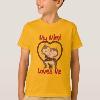 My Mimi Loves Me Monkey T-Shirt