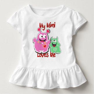My Mimi Loves Me Monster Toddler T-shirt