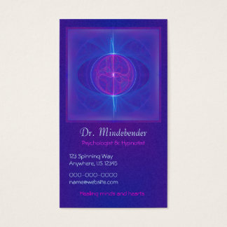 My Mind's Eye Abstract Art Business Card