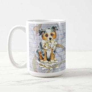 My Mini American Shepherd Ate My Lesson Plan Coffee Mug