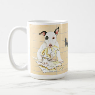 My Miniature Bull Terrier Ate My Homework Coffee Mug