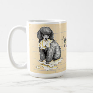 My Miniature Poodle Ate my Homework Coffee Mug