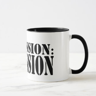 MY MISSION: REMISSION Ringer Mug