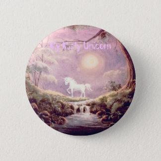 My Misty Unicorn 2 Inch Round Button
