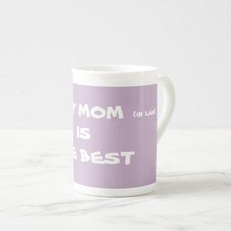 MY MOM in law IS THE BEST Coffee Tea Mugs