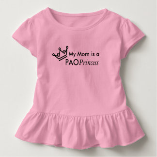 My Mom is a PAO Princess Toddler T-shirt