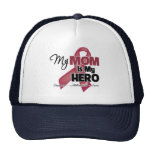 My Mom is My Hero - Multiple Myeloma Mesh Hat